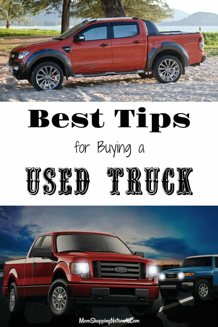 the best tips for buying a used truck the mom shopping network. Black Bedroom Furniture Sets. Home Design Ideas