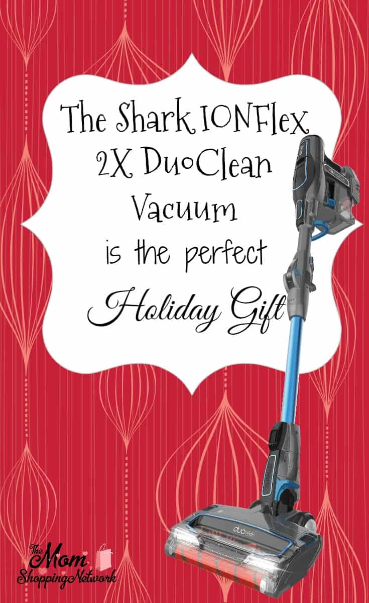 The Shark IONFlex Vacuum Makes a Great Holiday Gift. #sharkvacuum #sharkionflex #vacuum
