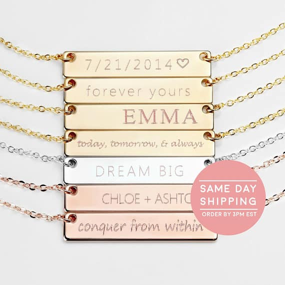 Custom Name Necklace  #necklace #customjewelry #etsy