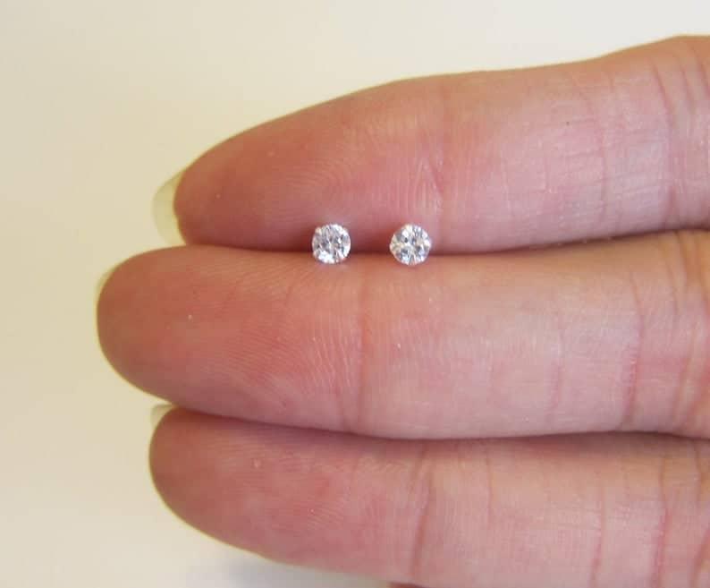 Cubic Zirconia Earrings #earrings