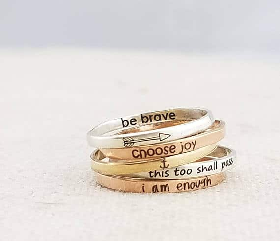 Inspirational Ring #inspirational #rings