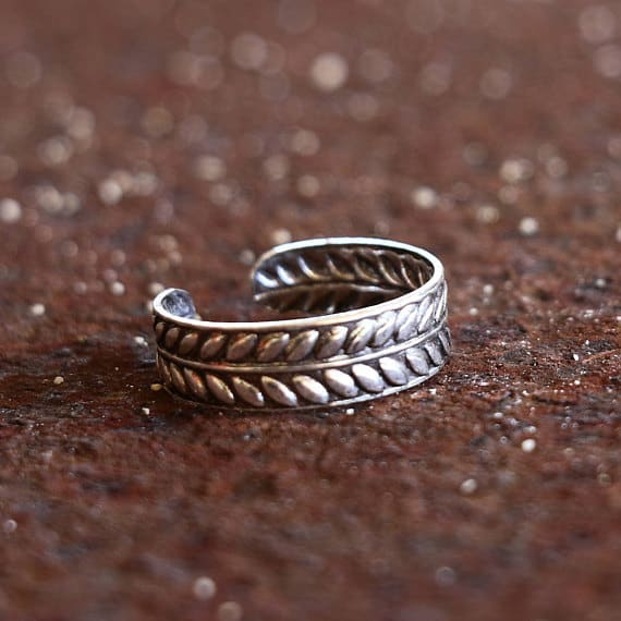 Sterling Silver Toe Ring #toering