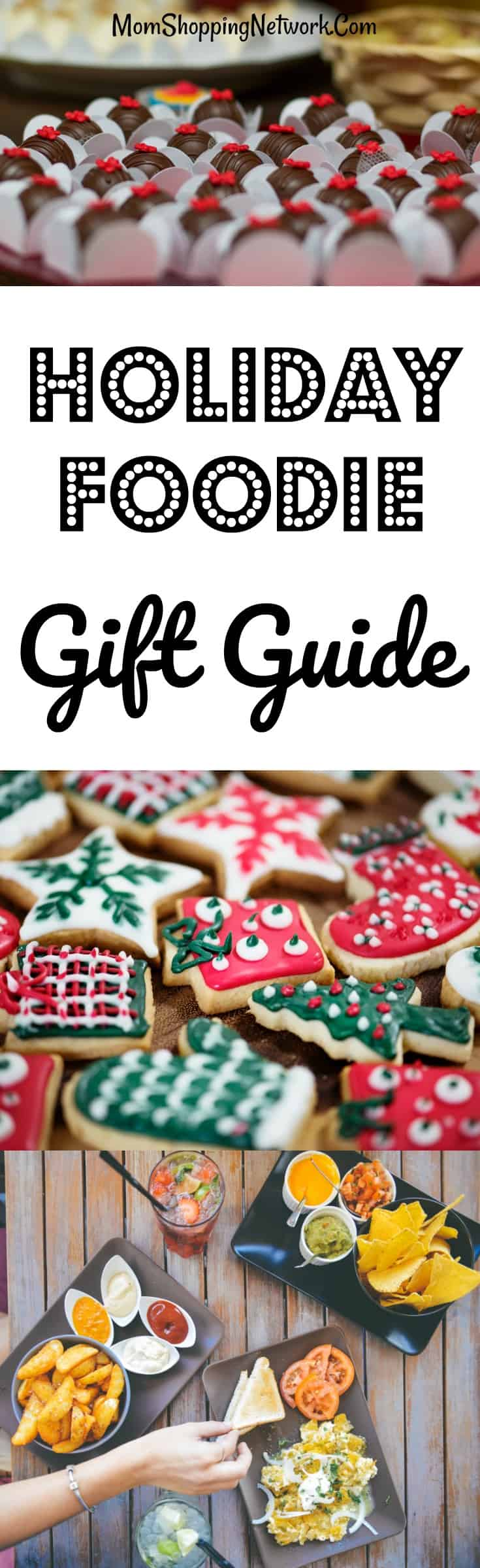 This 2017 Holiday Foodie Gift Guide has some awesome gift ideas for true food lovers! Foodie|Foodie Gifts|Foodie Gift Guide|Foodie Gift Ideas|Foodie Gift Basket|Foodie Gift Basket Ideas|Food Lovers Gifts|Food Lovers Gift Ideas|Food Lovers Gift Guide|Food Lovers Gift Basket|Food Lovers Gift Basket Ideas|2017 Holiday Gift Guide|Holiday Gift Guide|Gift Guide