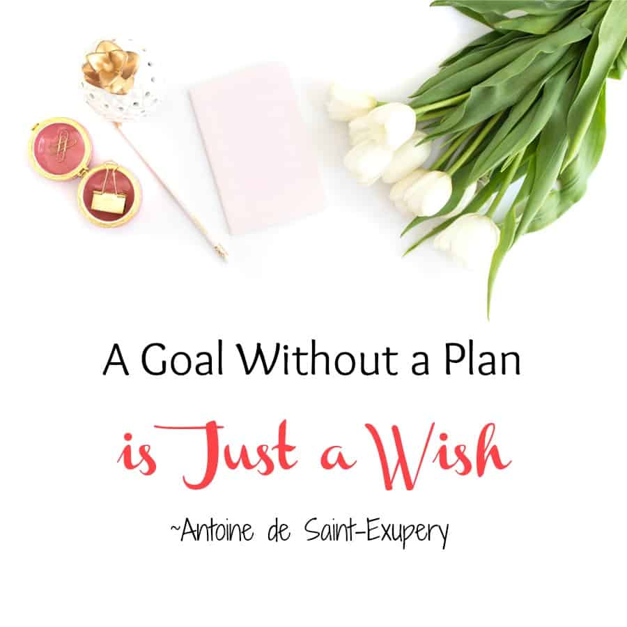 What a great New Year's Quote! #goals #plan #goalsetting #planning #planner