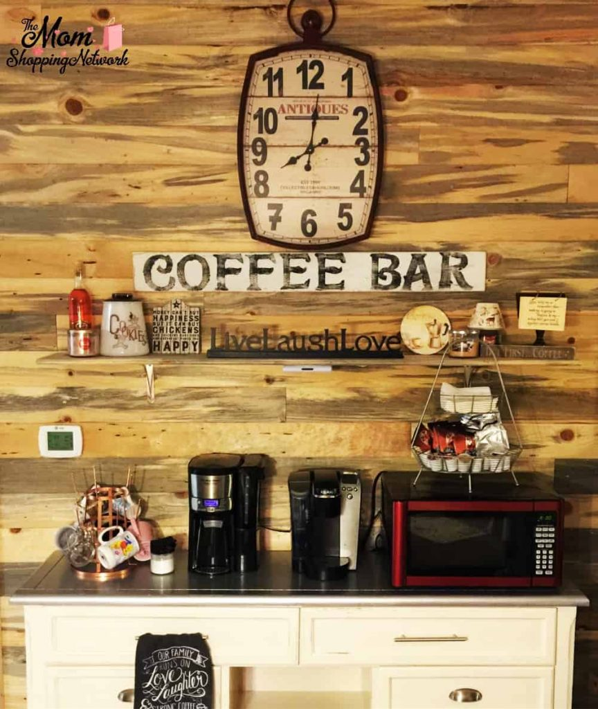 This is what we did to create our coffee bar at home, I now have the coffee bar of my dreams! Coffee Bar | Coffee Bar Ideas | Coffee Bar Essentials | Coffee Bar Station | Coffee Bar Tips | Coffee Bar Decor | Coffee Bar Sign | Coffee Bar Keurig | Coffee Bar Home | Coffee Bar Shelves | Coffee Bar Design | Coffee Bar Cabinet | Coffee Bar Furniture | Create Coffee Bar | Create Coffee Station | Coffee Bar Home | Coffee Bar home Small | Coffee Bar Home Ideas |Coffee Bar Home Decor