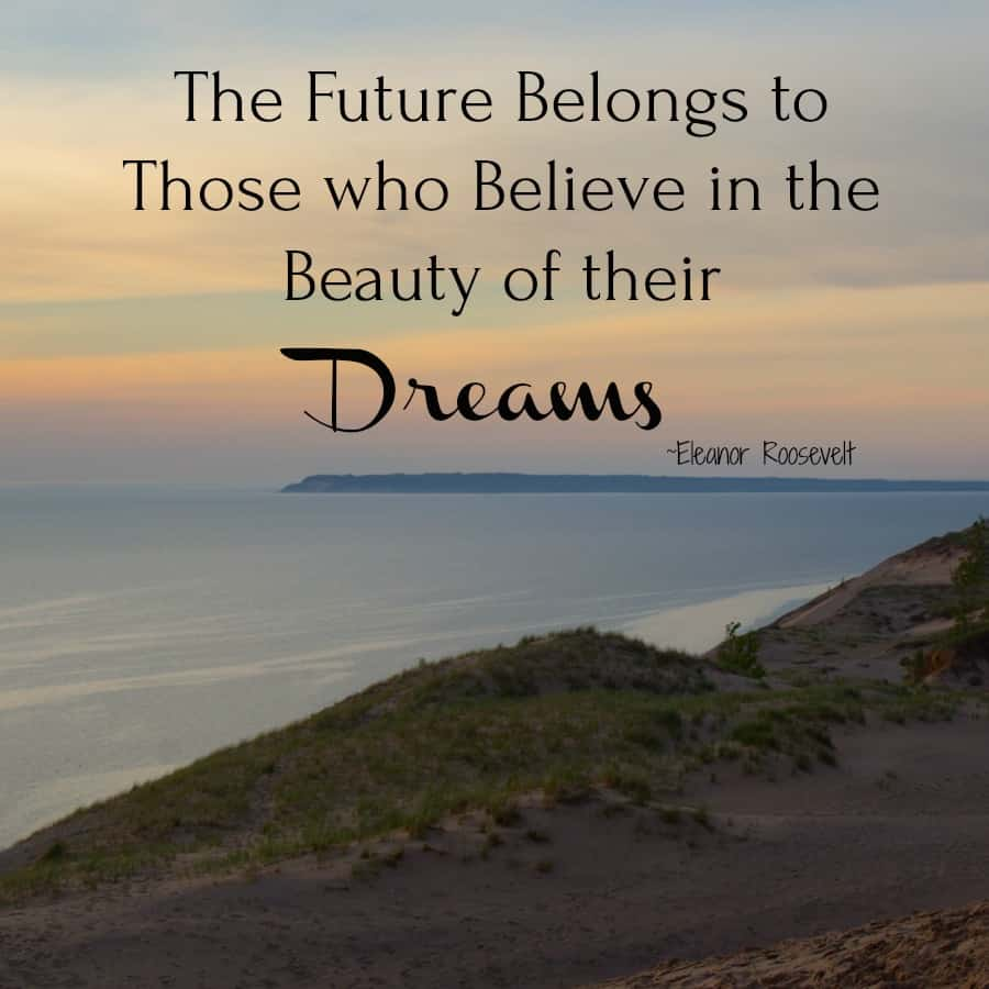 Love this quote about dreams, perfect for the New Year! #NewYears #quote #quotes #dreams #newyearquote
