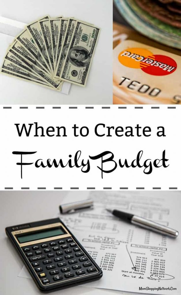 These tips will help you decide if it's time to create a family budget. This will be so helpful after the holidays for sure! Budget | Budgeting | Family Budget | Create a Budget | Need a Budget | Family Budgeting | Budget for beginners | Budget Tips | Budget Help | Living on a Budget