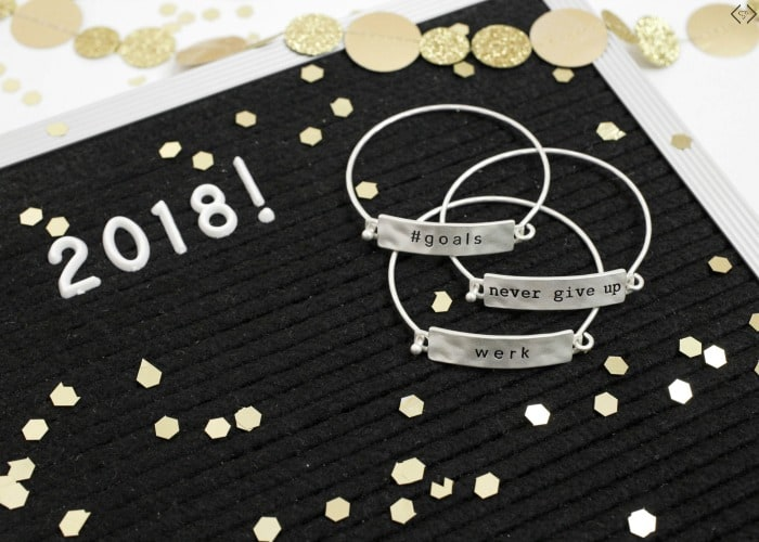 Bring in 2018 with inspirational jewelry from Cents of Style, so pretty! Inspiration | Inspirational Jewelry | Jewelry | Gifts | Inspirational quotes | Inspirational words