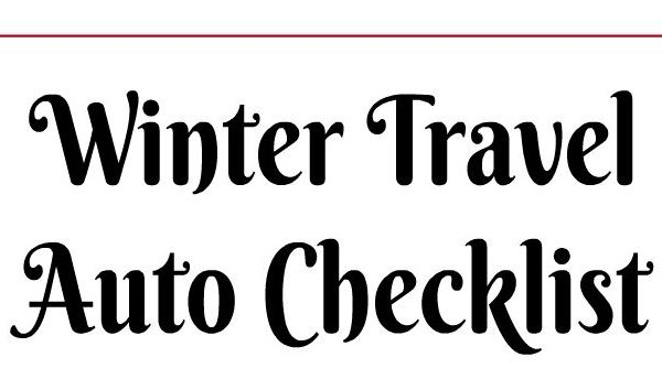 Prepare Your Car For Winter Travel -Printable Included!