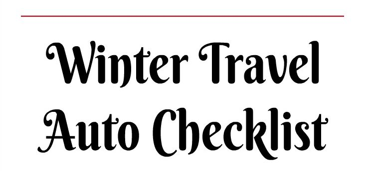 Prepare Your Car For Winter Travel Printable Included The Mom