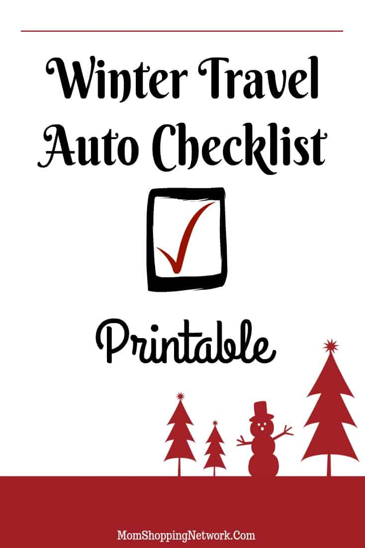 This Winter Travel Auto Checklist Printable will be so helpful before we head out on a road trip this year! Winter Travel|Travel Tips|Road Trip|Auto|Auto Checklist|Printable|Printables|Printable Checklist|Auto Printable