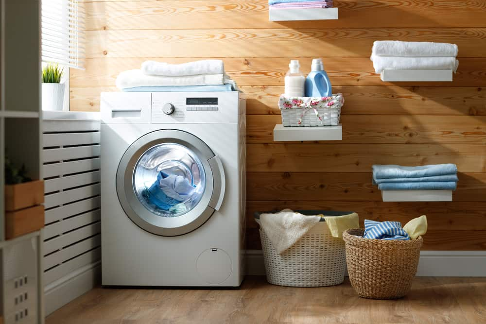 Diy Laundry Room Makeover On A Budget The Mom Shopping Network
