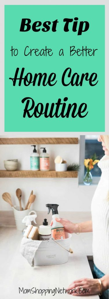 This is the best tip to create a better home care routine...this really works! Home | Home Care | Home Care Routine | House Ideas | Housekeeping | Housekeeping Tips | Housekeeping Hacks | Housekeeping Ideas #homecare #housecleaning #housekeeping