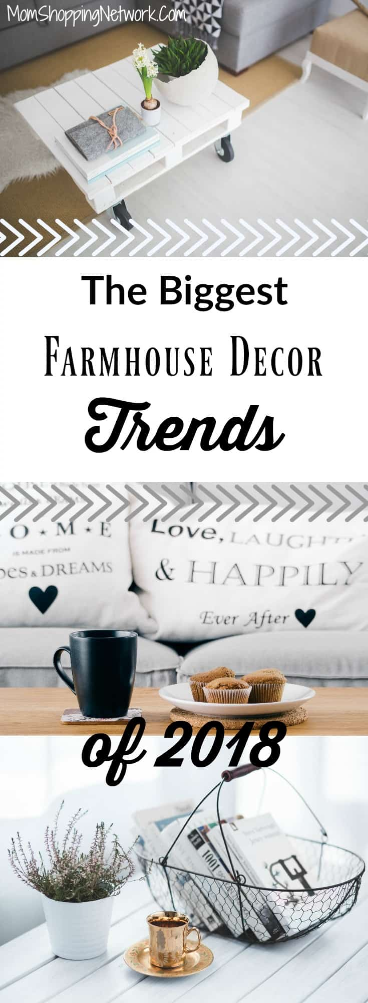 The Biggest Farmhouse Decor Trends of 2018 - The Mom Shopping Network for Biggest Farmhouse  111ane