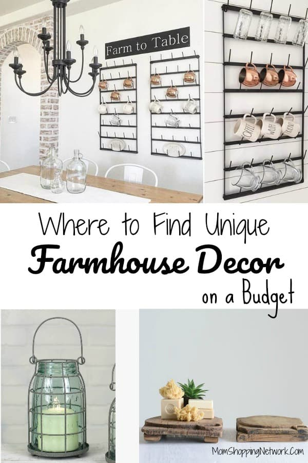 Are you a Fixer Upper fanatic? Do you wish Joanna Gaines would come and decorate your house? Me too, but until then I guess we'll have to do it ourselves! These really are the best sites to find unique farmhouse decor on a budget! #farmhousedecor #farmhousedecortips #farmhouselivingroom #farmhousekitchen #farmhousebedroom #farmhousebathroom #farmhousestyle #farmhouseinspired #farmhouseideas #modernfarmhouse #homedecor #design #farmhouseinterior #farmhousedesign #farmhousedecorating #homedecorideas #homedecorideasforcheap #homedecoronabudget #bestsitesforhomedecor #joannagaines #joannagainesstyle #fixerupper #fixerupperfarmhouse #fixeruppperideas