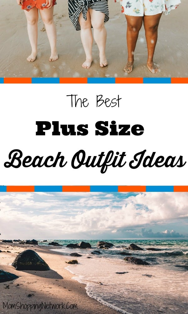 The Best Plus Size Beach Outfit Ideas #beachoutfits #plussizebeachoutfit #plussizeclothing