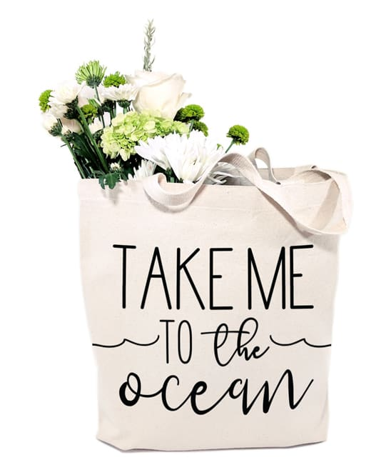 Take me to the Ocean Beach tote. #beachtote #plussizebeachwear