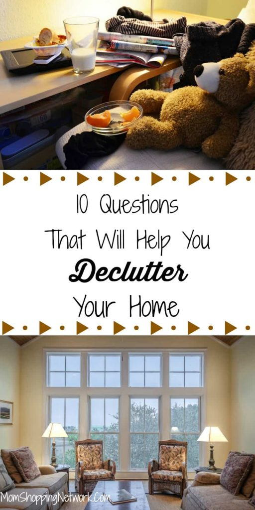 In order to Declutter your house you first have to declutter your mind. Confused? These 10 questions will help! Declutter | Declutter Your Home | Declutter Your House | Declutter Your Mind | Decluttering Tips | Decluttering Ideas | Declutering Tips | Declutter Tips | Declutter Ideas #declutter #declutteryourhome #declutteringtips #clutter