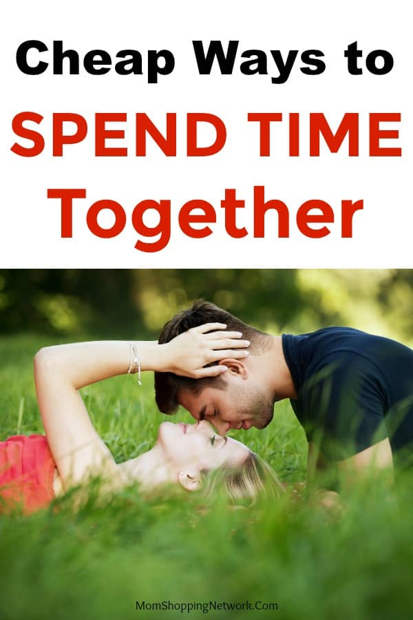 man and woman spending time together