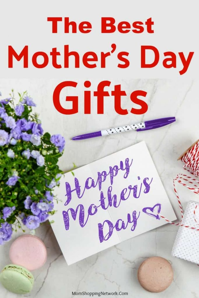 Happy Mother's Day card, flowers and gift ideas