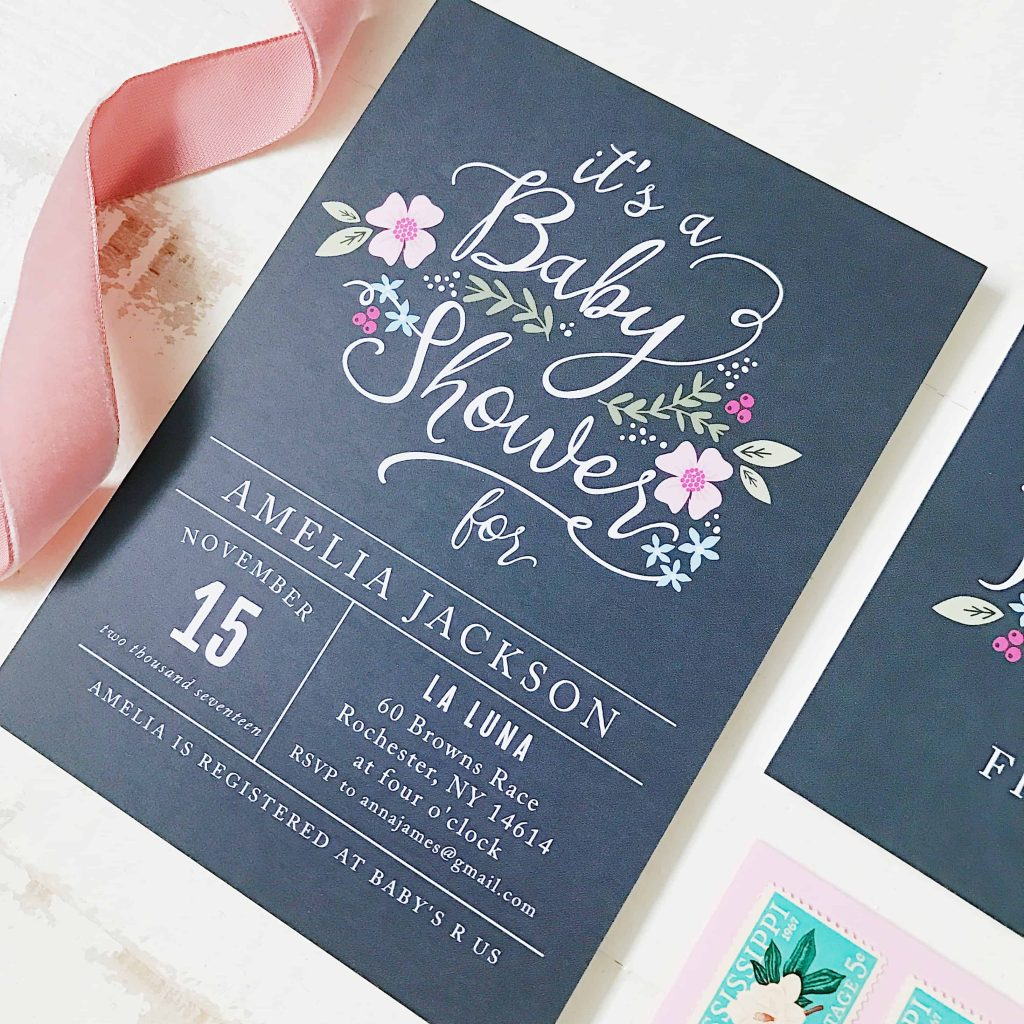 Cute baby shower invitations, love these! #babyshowerinvites #babyshower