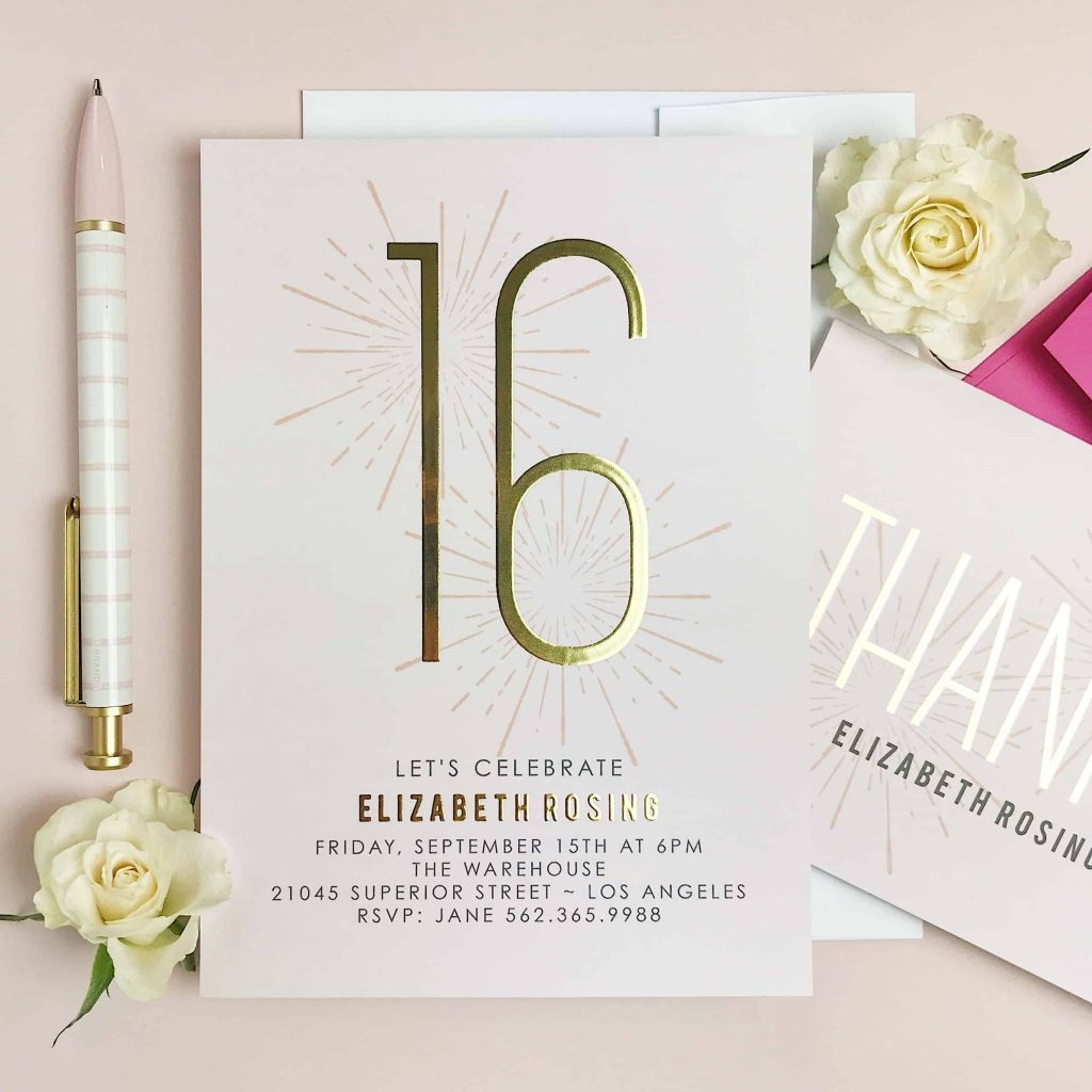 Stylish birthday invites everyone will love! #birthdayinvitations #birthdayinvites #birthdays