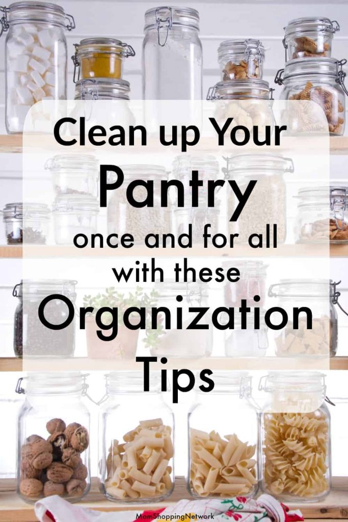 These are great pantry organization ideas that will help you get your pantry organized once and for all! The best pantry organizing hacks to keep your kitchen pantry neat and tidy! #pantry #pantryorganization #pantryideas #pantryorganizationideas
