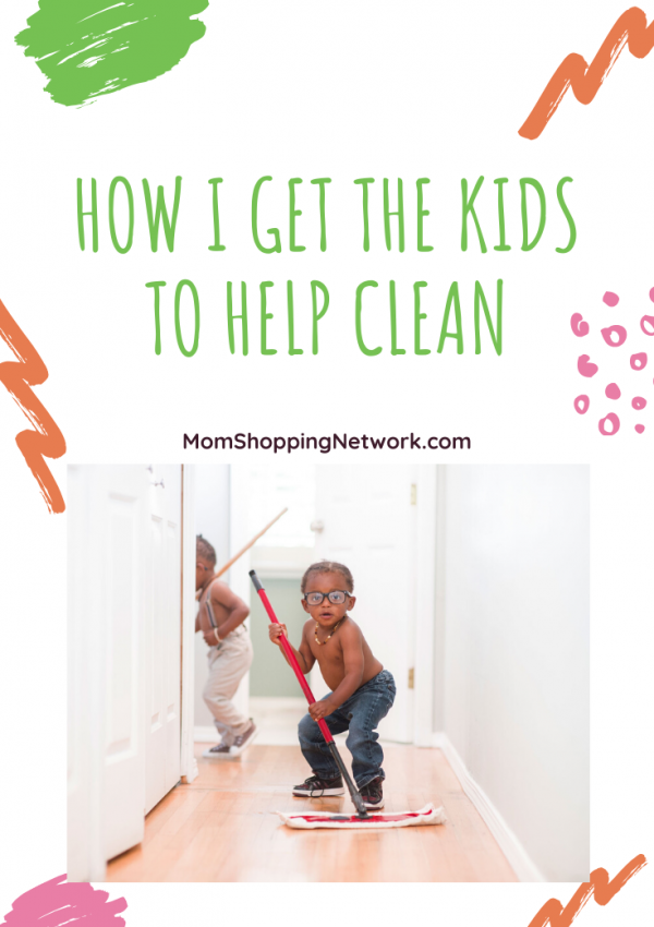 How I Get The Kids To Help Clean #cleaningtips #grovecollaborative #householdchores #choresforkids #momshoppingnetwork