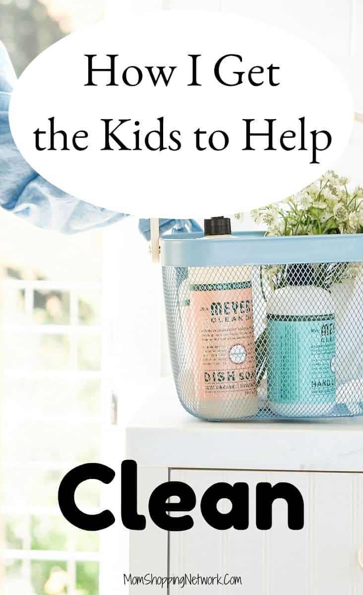 This FREE KIT from Grove really helps me get the kids to help clean, it's amazing! #kidschores #homecleaning #household #momshoppingnetwork #dailycleaningtips