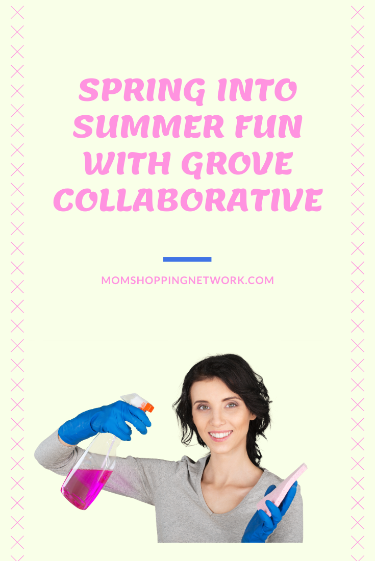 Spring Into Summer Fun with Grove Collaborative #springcleaning #summercleaning #cleaningtips #householdcleaning #momshoppingnetwork