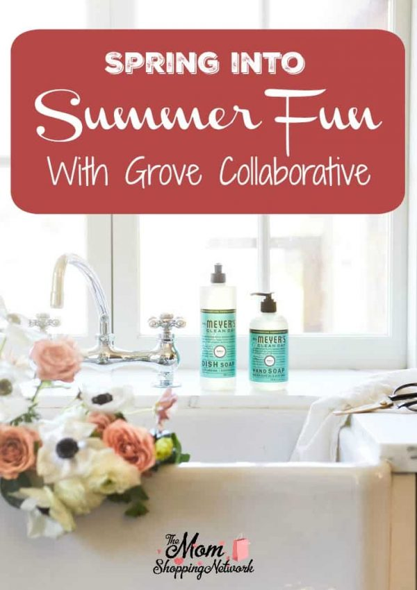 Spring Into Summer Fun With Grove Collaborative. #grovecollaborative #springcleaning #householdcleaning #naturalcleaningproducts #momshoppingnetwork