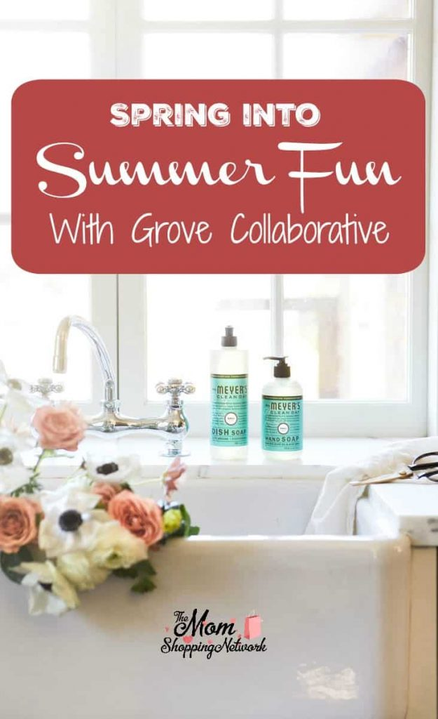 I'm ready for some summer fun! Glad I have Grove Collaborative to help me get my house ready for summertime!