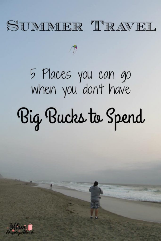 Summer Travel Can be tough when you're on a budget. Here are 5 places you can go when you don't have big bucks to spend. Summer Travel|Travel on a budget|summer fun|travel | Travel Tips | Travel Destinations | Travel Ideas |  Cheap Travel  #travel #traveltips #budgettravel