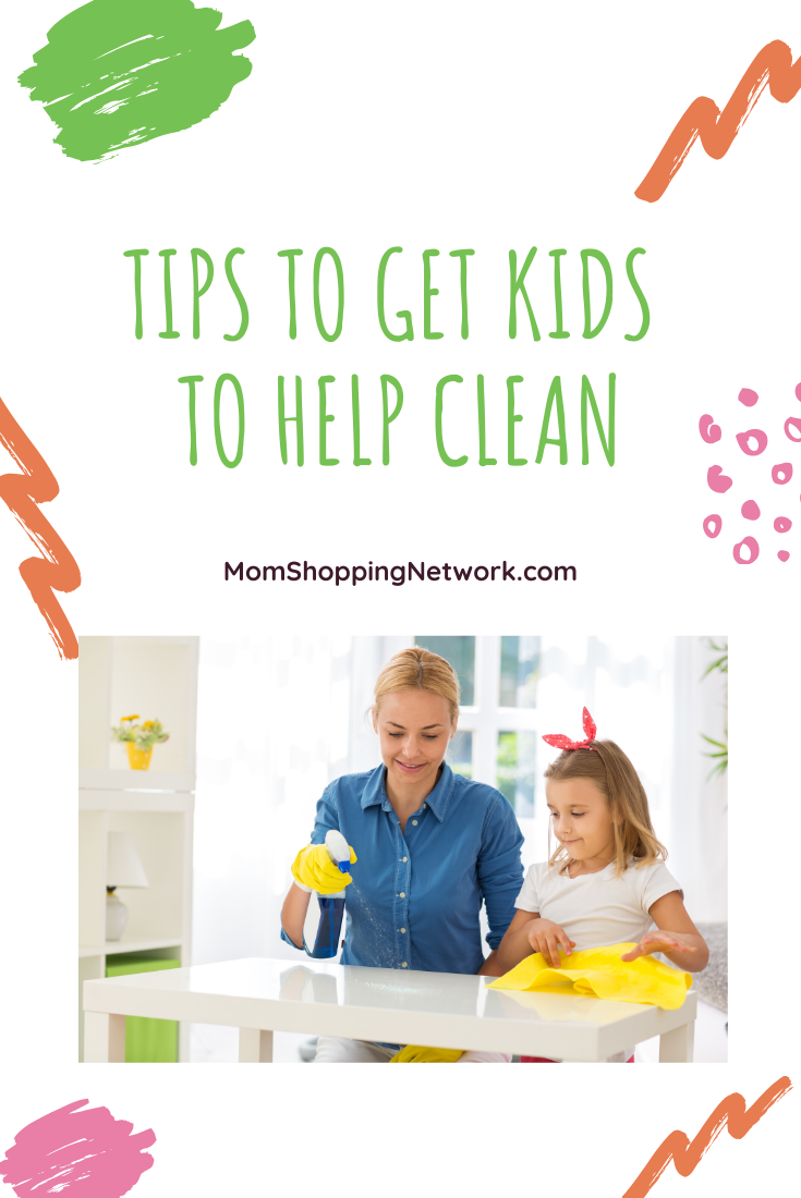 Tips To Get Kids To Help Clean #cleaningtips #grovecollaborative #householdchores #choresforkids #momshoppingnetwork