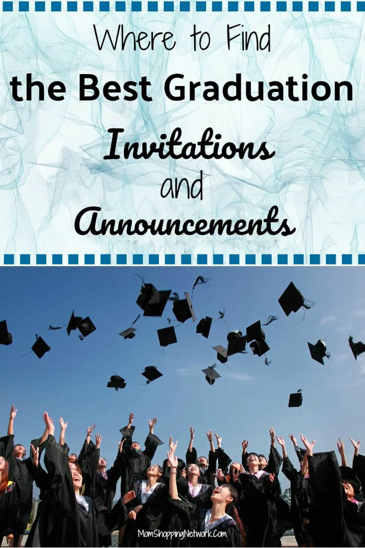 Where to Find The Best Graduation Invitations and Announcements #graduation #grads #graduationannouncements #graduationinvitations