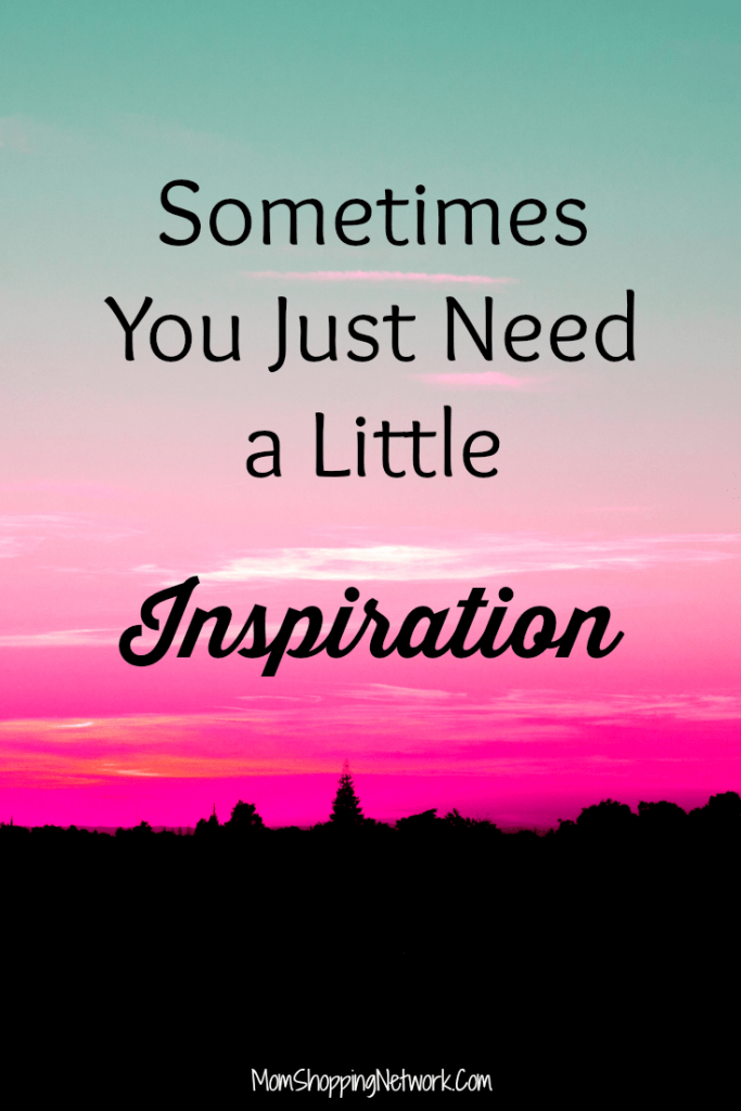 Sometimes you just need a little inspiration. Encouragement, inspiration and positivity for every woman.