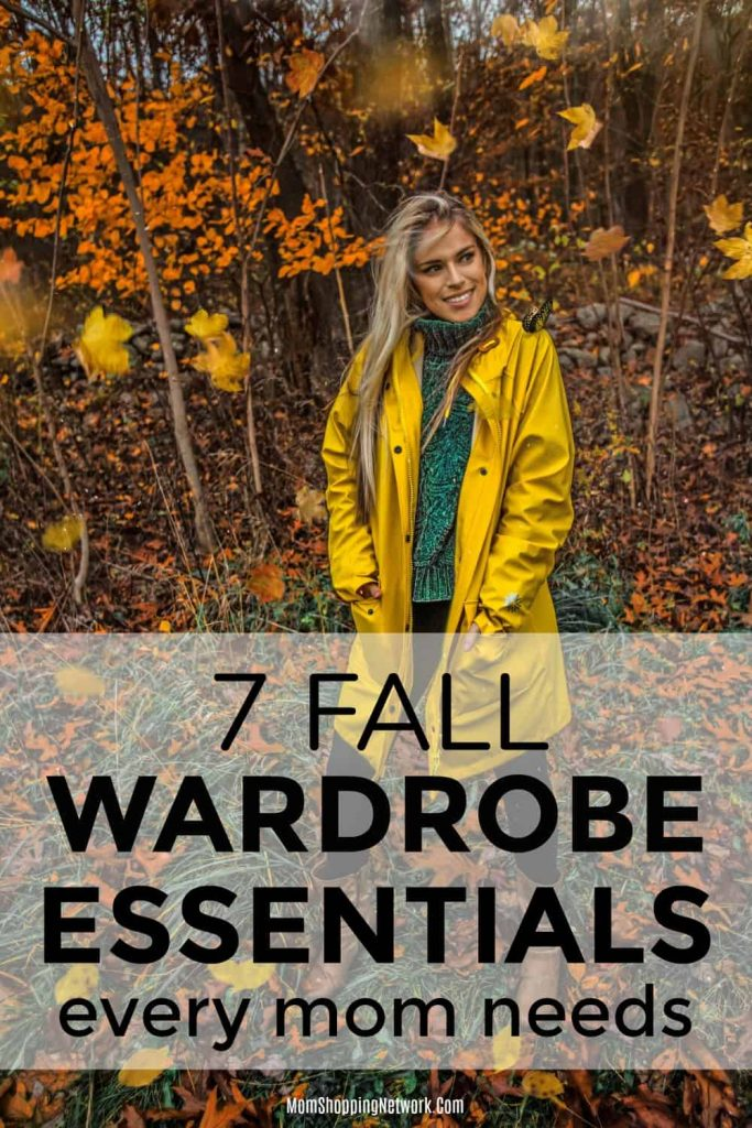 woman wearing a coat perfect for fall wardrobe