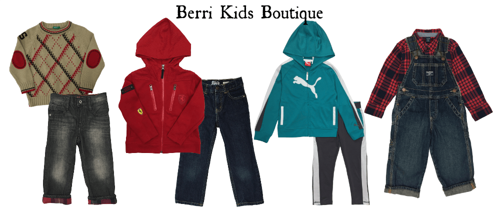 Find Pre-loved and gently-used clothing for boys at Berri Kids Boutique!