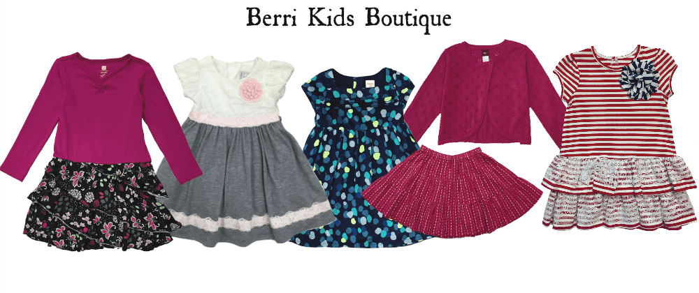 Shop pre-loved and gently used girls clothing at Berri Kids Boutique!