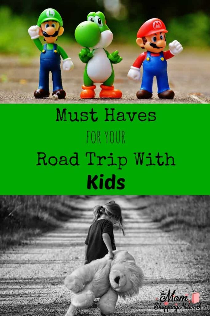 These are definitely must haves for your road trip with kids!