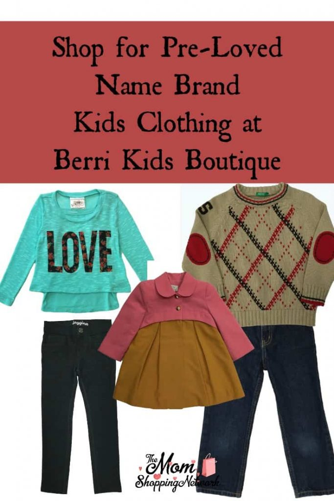 I found a great place to shop for pre-loved kids clothing...introducing Berri Kids Boutique!