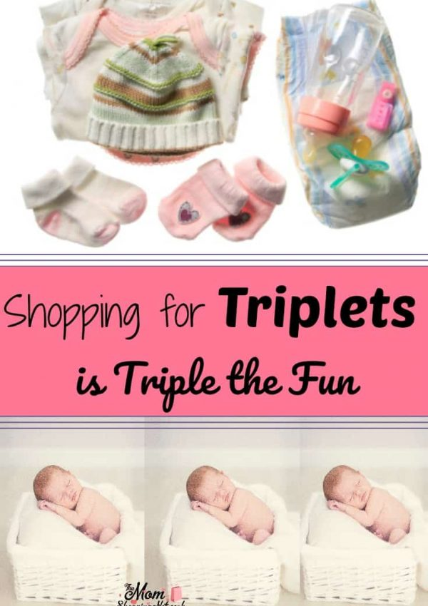 Shopping for triplets really is triple the fun! Here are some tips that will help! #shopping #triplets #tips #shoppingtips #shoppinghacks