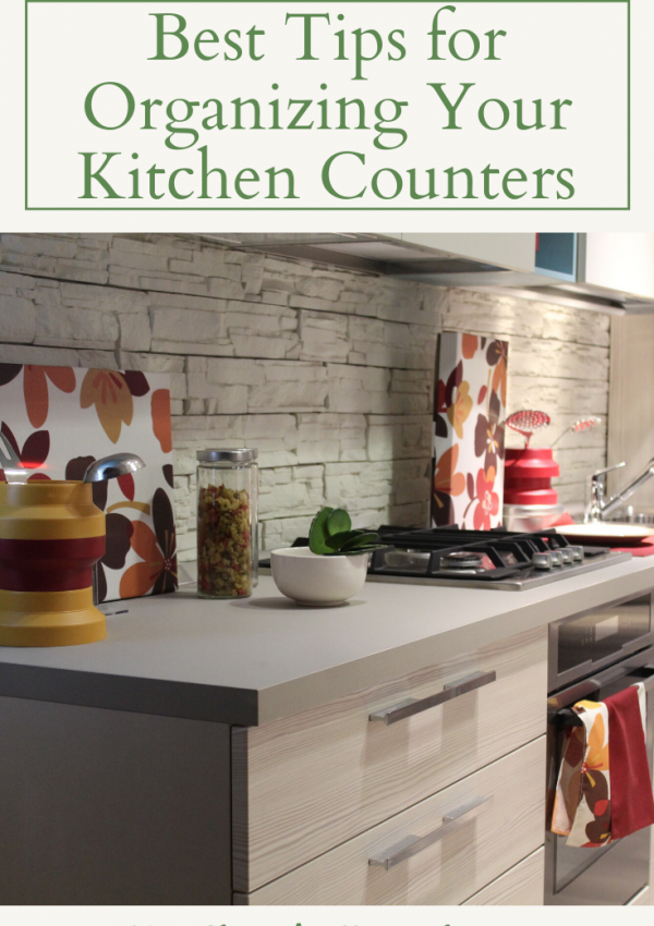 5 of the Best Tips for Organizing Your Kitchen Counters
