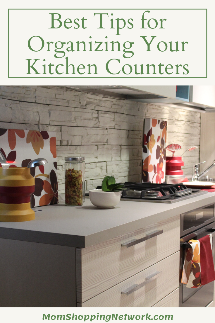 5 of the Best Tips for Organizing Your Kitchen Counters #organizing #kitchen #kitchenorganizing