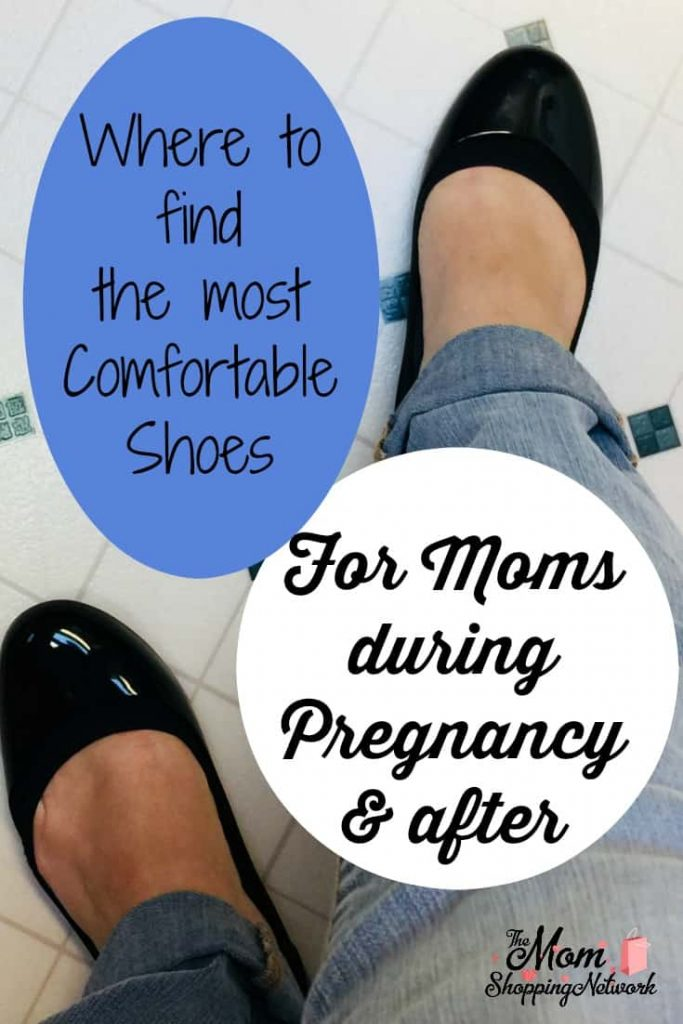 It's hard to find comfortable shoes for moms that work well both during pregnancy and after. These flats are stylish shoes for moms and great maternity shoes as well. #maternity #shoes #momstyle #pregnancy