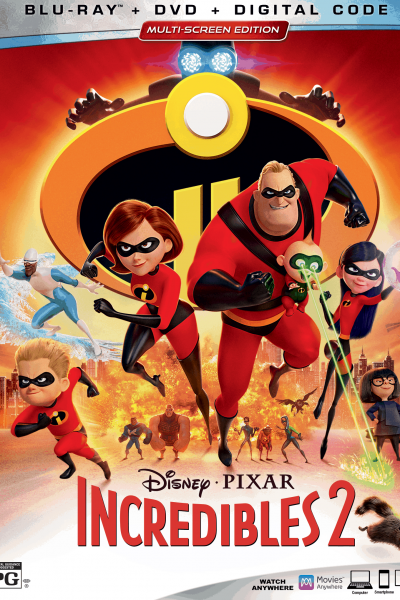 Enjoy Family Movie Night With Disney•Pixar's Incredibles 2
