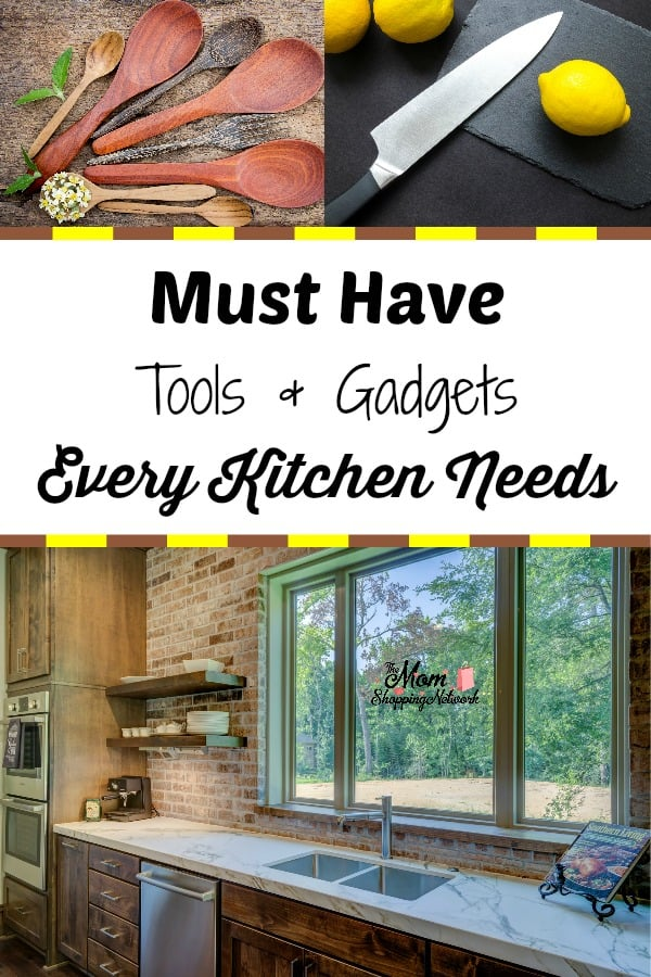 These are must have kitchen tools and gadgets that every kitchen needs. I love it when I find cool kitchen gadgets and unique kitchen tools, these really are the top 10 kitchen gadgets every kitchen should have in my book! #kitchenideas #kitchengadgets #kitchentools #kitchen