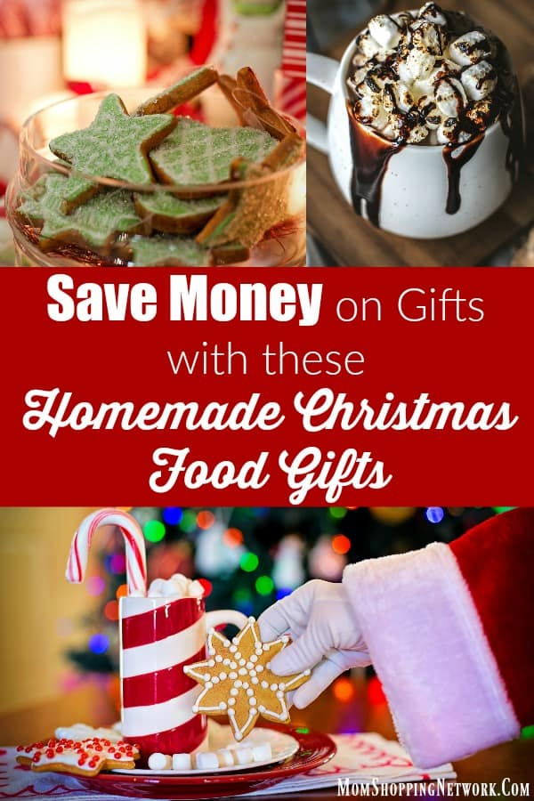 Homemade Christmas Food Gifts are perfect for the upcoming Holiday Season! If you're looking to really save money on Christmas gifts this year, these are great options! #Christmas #homemadegifts #homemadechristmasgifts