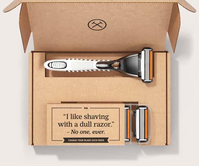 Dollar Shave Club for Dad #giftsfordad #shavingclubs