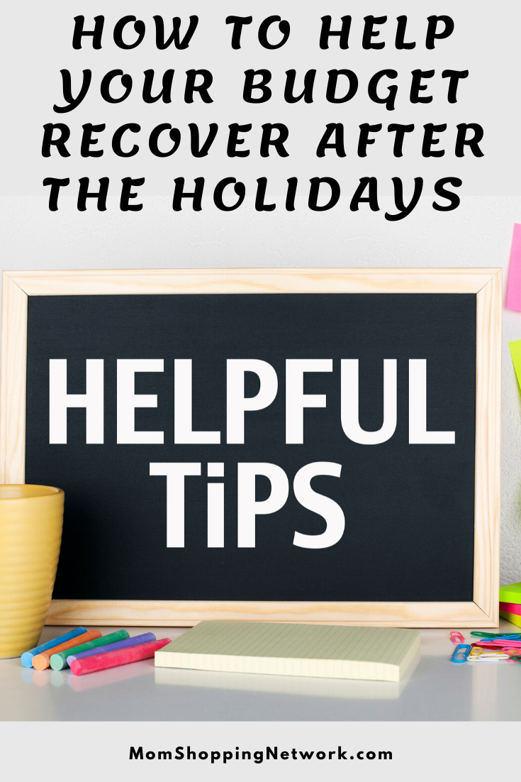 How to Help Your Budget Recover After the Holidays #moneytips #financetips #budgettips